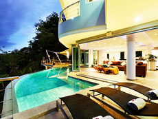 プーケット バンタオビーチのホテル : ヴィラ ビヨンド(1)のお部屋「5ベッドルーム」