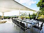 プーケット ファミリー&グループのホテル : ヴィラ ビヨンド(Villa Beyond)の7ベッドルームルームの設備 Dining Area
