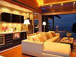 プーケット ファミリー&グループのホテル : ヴィラ チャン グラジャング(Villa Chan Grajang)の1ベッドルームルームの設備 Living Room