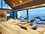 プーケット ファミリー&グループのホテル : ヴィラ チャン グラジャング(Villa Chan Grajang)の2ベッドルームルームの設備 Living Room