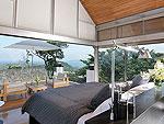 プーケット ファミリー&グループのホテル : ヴィラ チャン グラジャング(Villa Chan Grajang)の4ベッドルームルームの設備 Master Bedroom