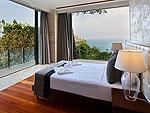 プーケット その他・離島のホテル : ヴィラ ミン(Villa Minh)の3ベッドルームルームの設備 Master Bedroom
