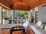 プーケット その他・離島のホテル : ヴィラ ミン(Villa Minh)の3ベッドルームルームの設備 Living Room