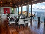 プーケット その他・離島のホテル : ヴィラ ミン(Villa Minh)の3ベッドルームルームの設備 Living Area