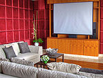 プーケット その他・離島のホテル : ヴィラ ミン(Villa Minh)の4ベッドルームルームの設備 Theater Room