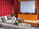 プーケット その他・離島のホテル : ヴィラ ミン(Villa Minh)の6ベッドルームルームの設備 Theater Room