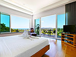 プーケット バンタオビーチのホテル : ヴィラ ナマステ(Villa Namaste)の4ベッドルームです。ルームの設備 Third Room