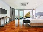 プーケット バンタオビーチのホテル : ヴィラ ナマステ(Villa Namaste)の4ベッドルームです。ルームの設備 Fifeth Room