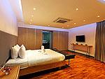 プーケット バンタオビーチのホテル : ヴィラ ナマステ(Villa Namaste)の4ベッドルームです。ルームの設備 Sixth Room