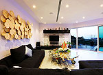 プーケット バンタオビーチのホテル : ヴィラ ナマステ(Villa Namaste)の4ベッドルームです。ルームの設備 Living Room