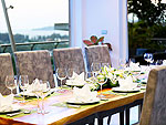 プーケット バンタオビーチのホテル : ヴィラ ナマステ(Villa Namaste)の4ベッドルームです。ルームの設備 Dining Area