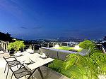 プーケット バンタオビーチのホテル : ヴィラ ナマステ(Villa Namaste)の4ベッドルームです。ルームの設備 Terrace