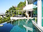 プーケット バンタオビーチのホテル : ヴィラ ナマステ(Villa Namaste)の4ベッドルームです。ルームの設備 Private Pool