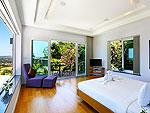 プーケット バンタオビーチのホテル : ヴィラ ナマステ(Villa Namaste)の5ベッドルームルームの設備 Third Room