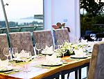 プーケット バンタオビーチのホテル : ヴィラ ナマステ(Villa Namaste)の5ベッドルームルームの設備 Dining Area