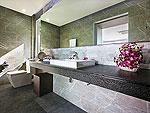 プーケット バンタオビーチのホテル : ヴィラ ナマステ(Villa Namaste)の6ベッドルームルームの設備 Bath Room