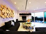 プーケット バンタオビーチのホテル : ヴィラ ナマステ(Villa Namaste)の6ベッドルームルームの設備 Living Room