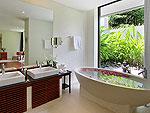 プーケット その他・離島のホテル : ヴィラ パドマ(Villa Padma)の2ベッドルームルームの設備 Bath Room