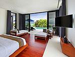 プーケット その他・離島のホテル : ヴィラ パドマ(Villa Padma)の3ベッドルームルームの設備 Master Bedroom