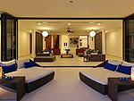 プーケット その他・離島のホテル : ヴィラ パドマ(Villa Padma)の3ベッドルームルームの設備 Living Room