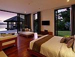 プーケット その他・離島のホテル : ヴィラ パドマ(Villa Padma)の4ベッドルームルームの設備 Master Bedroom