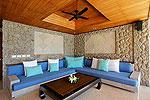 プーケット スリンビーチのホテル : ヴィラ ラク タワン(Villa Rak Tawan)の1ベッドルームルームの設備 Living Room