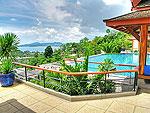プーケット スリンビーチのホテル : ヴィラ ラク タワン(Villa Rak Tawan)の3ベッドルームルームの設備 Terrace