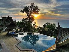 プーケット スリンビーチのホテル : ヴィラ ラク タワン(1)のお部屋「4ベッドルーム」