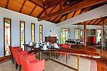 プーケット スリンビーチのホテル : ヴィラ ラク タワン(Villa Rak Tawan)の5ベッドルームルームの設備 Dining Area