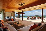 プーケット スリンビーチのホテル : ヴィラ ラク タワン(Villa Rak Tawan)の5ベッドルームルームの設備 Outside Living Area