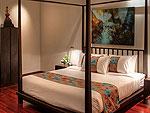 プーケット ファミリー&グループのホテル : ヴィラ サマキー(Villa Samakee)の1ベッドルームルームの設備 Second Room
