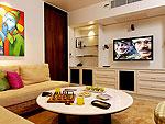 プーケット ファミリー&グループのホテル : ヴィラ サマキー(Villa Samakee)の1ベッドルームルームの設備 Theater Room