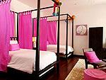 プーケット ファミリー&グループのホテル : ヴィラ サマキー(Villa Samakee)の3ベッドルームルームの設備 Third Room