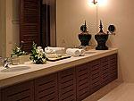 プーケット バンタオビーチのホテル : ヴィラ サマキー(Villa Samakee)の3ベッドルームルームの設備 Bathroom