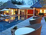 プーケット バンタオビーチのホテル : ヴィラ サマキー(Villa Samakee)の3ベッドルームルームの設備 Private Pool