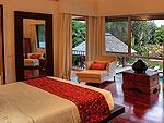 プーケット バンタオビーチのホテル : ヴィラ サマキー(Villa Samakee)の4ベッドルームルームの設備 Master Bedroom