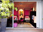 プーケット ファミリー&グループのホテル : ヴィラ サマキー(Villa Samakee)の4ベッドルームルームの設備 Third Room