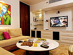 プーケット バンタオビーチのホテル : ヴィラ サマキー(Villa Samakee)の4ベッドルームルームの設備 Theater Room