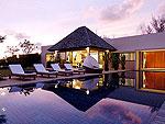 プーケット バンタオビーチのホテル : ヴィラ サマキー(Villa Samakee)の4ベッドルームルームの設備 Private Pool