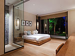 プーケット その他・離島のホテル : ヴィラ サワリン(Villa Sawarin)の3ベッドルームルームの設備 Bedroom