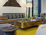 プーケット その他・離島のホテル : ヴィラ サワリン(Villa Sawarin)の3ベッドルームルームの設備 Living Room