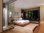 プーケット その他・離島のホテル : ヴィラ サワリン(Villa Sawarin)の4ベッドルームルームの設備 Bedroom