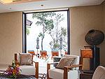 プーケット その他・離島のホテル : ヴィラ サワリン(Villa Sawarin)の6ベッドルームルームの設備 Living Room