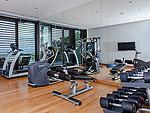 プーケット その他・離島のホテル : ヴィラ サワリン(Villa Sawarin)の7ベッドルームルームの設備 Fitness