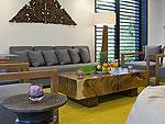プーケット その他・離島のホテル : ヴィラ サワリン(Villa Sawarin)の8ベッドルームルームの設備 Living Area