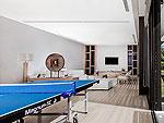 プーケット その他・離島のホテル : ヴィラ サワリン(Villa Sawarin)の8ベッドルームルームの設備 Table Tannis