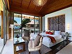 プーケット その他・離島のホテル : ヴィラ トルチェッロ(Villa Torcello)の3ベッドルームルームの設備 Second Bedroom
