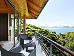 プーケット その他・離島のホテル : ヴィラ トルチェッロ(Villa Torcello)の3ベッドルームルームの設備 Balcony
