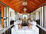 プーケット その他・離島のホテル : ヴィラ トルチェッロ(Villa Torcello)の3ベッドルームルームの設備 Living Room
