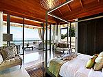 プーケット その他・離島のホテル : ヴィラ トルチェッロ(Villa Torcello)の4ベッドルームルームの設備 Master Bedroom